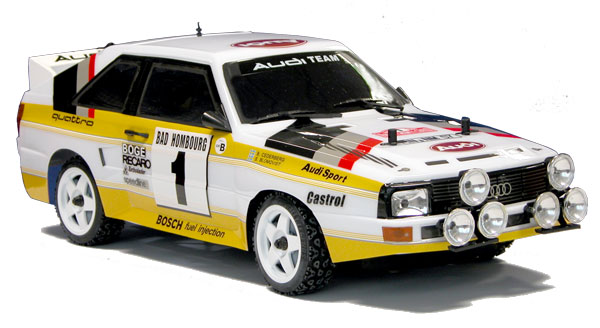 The Rally Legends by Italtrading Audi quattro Sport