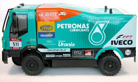 The Rally Legends by Italtrading Iveco Trakker Dakar 2012