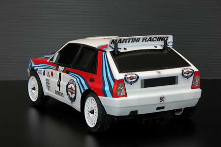 The Rally legends lancia delta Integrale