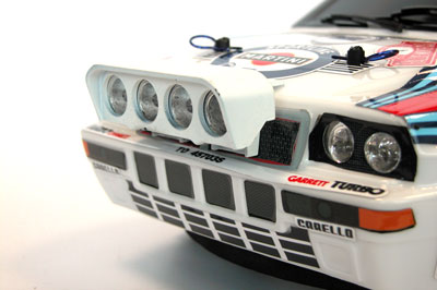Italtrading the rally legends RC cars